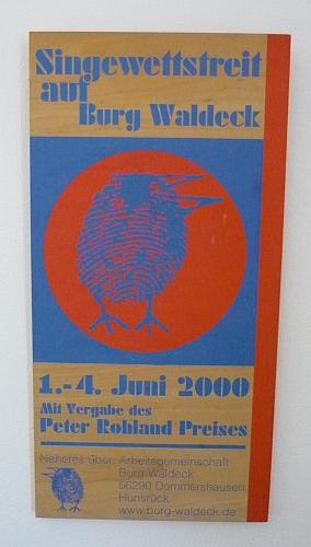 Singewettstreit Juni 2000 - Foto: 2013 by Schattenblick