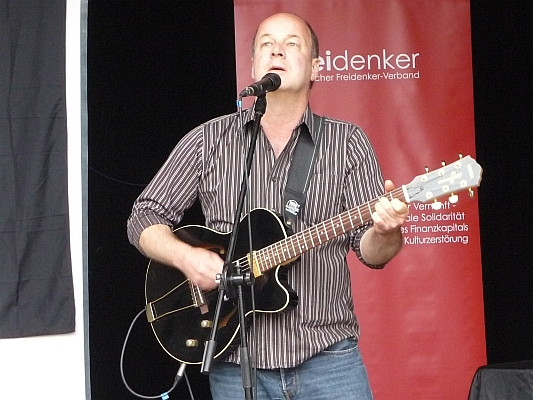 Beim Liederabend - Foto: © 2013 by Schattenblick